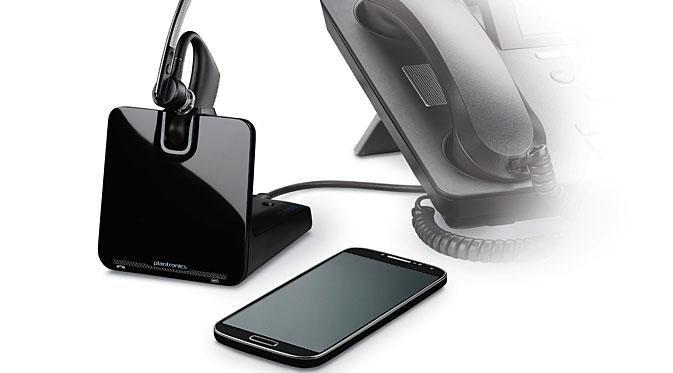 Aksesoris ini membantu penggunanya menjawab telepon dari gadget dan telepon mejanya sekaligus.