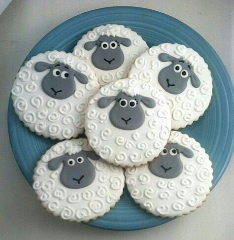 Sheep cookies....