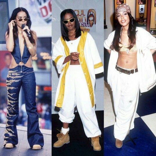 90s hip hop women style