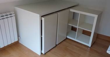 Ikea Hacker | EXPEDIT cubes on wheels