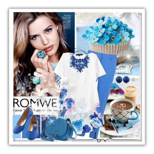 Romwe shirt by lailah37 on Polyvore featuring moda, Reed Krakoff, PAVA, Anabela Chan and Lord & Taylor