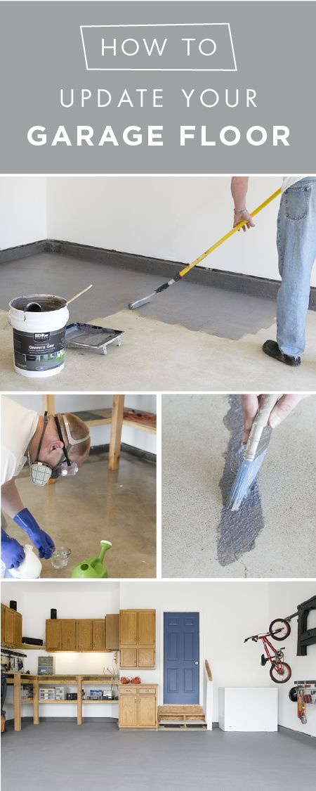 It's amazing what a fresh coating can do for the look of your garage. Rachel from Craving Some Creativity coated the concrete flooring in her garage with BEHR Premium Granite Grip to give it a clean and durable, non-slip finish. Check out Rachel's full tutorial to get your spring cleaning started off right.