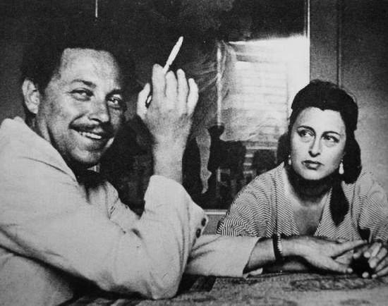 #TennesseeWilliams and #AnnaMagnani, lovely friends. @CleliaMussari @suffragettecine @FilmHistoryPics @TrastevereRM