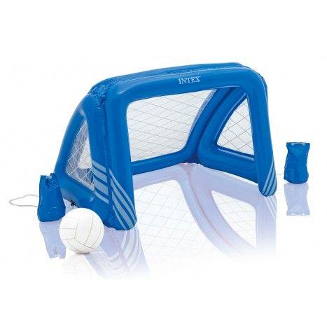 Handig voor in het zwembad, maar ook voor op het gras is de Fun Goals Game van #Intex. #dws