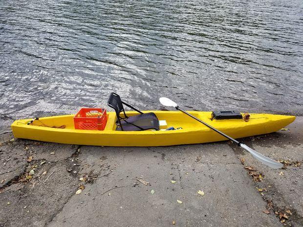 Sawfish The Unsinkable Lightweight Foam Kayak Free Diy Kayak Plans Anyone Can Build Kayaking Boat Diy Boat