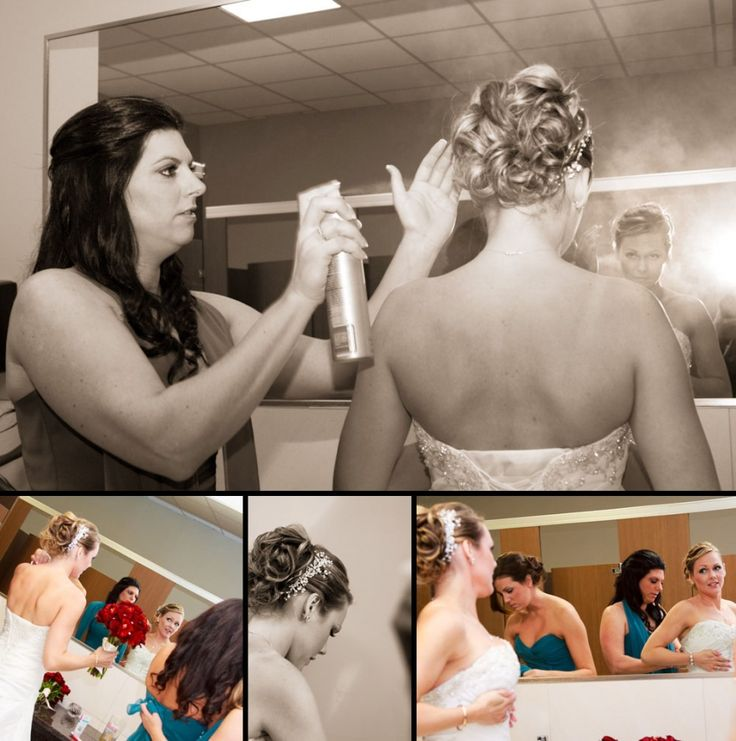 Gatineau Golf Club Wedding - Kelly and Corey- Kandid Weddings #gettingready #bridesmaids