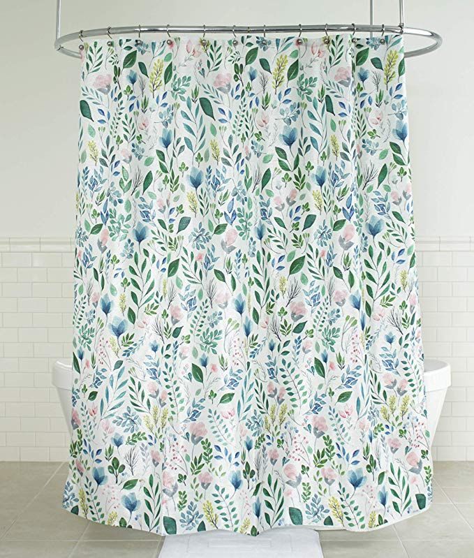 The Penrhyn Shower Curtain Features A Stunning Medley Of Wild