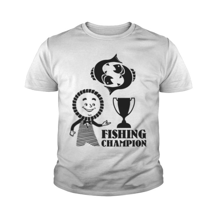 FISHING CHAMPION ---------------- $19 USD AWESOME PRODUCT FOR FISH LIKERS!  100% SATISFACTION GUARANTEED! Printed in the USA! #FISHING LIKER FISHING T-SHIRT