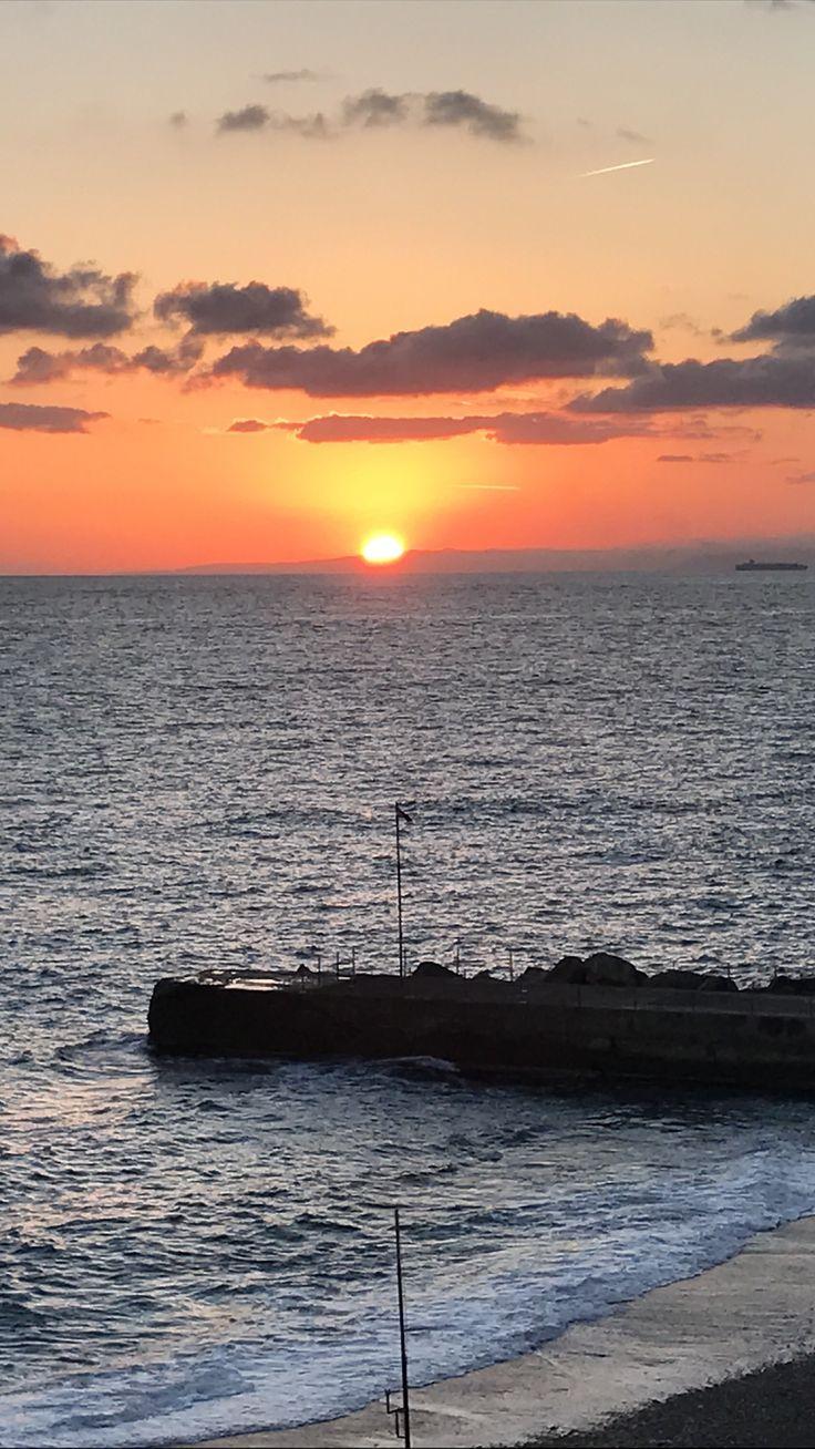 Sunset 🌥 #ItalianLandscape