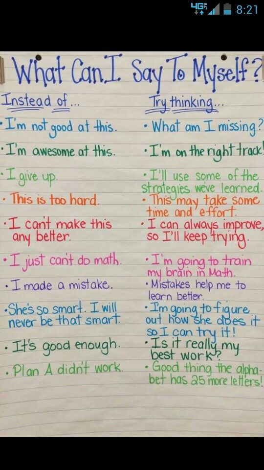 Encouraging quotes for students.