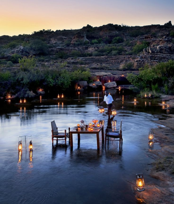 Located in the secluded Cederberg Mountains, South Africa, Bushmanskloof is a unique and o so romantic escape. #bestafricavacations