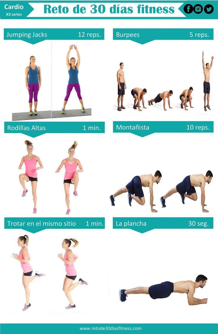 Reto de 30 días | Cardio ~ Reto de 30 días Fitness