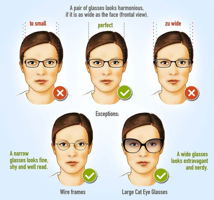 Wideness Of Glasses  Hairstyles In 2019  Glasses For -2203