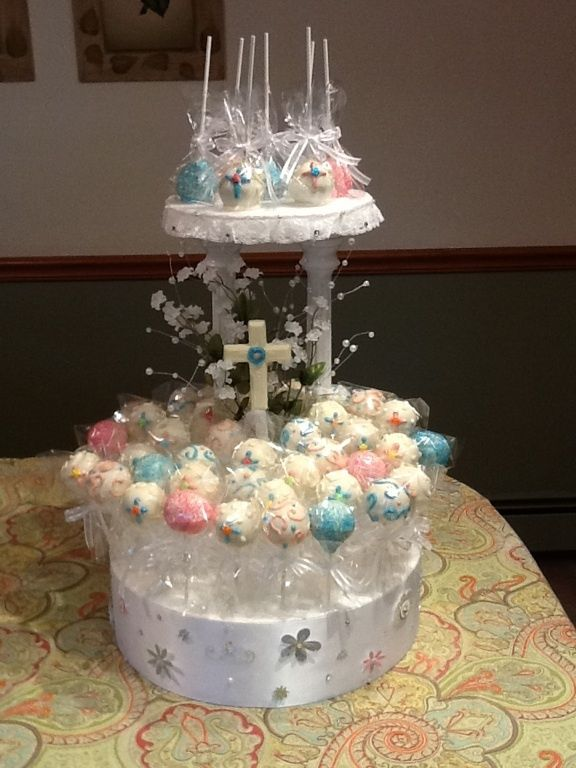 Confirmation Cupcake Ideas Communion Cake Pops And Cake