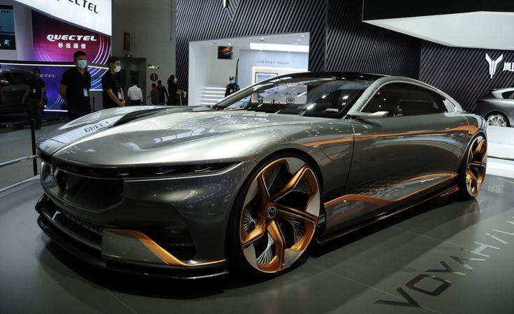 パクリだけじゃない 北京msに展示されているカッコいい中国車 Voyah I Land 長城汽車 黒弾 プラスワン フォード F150 北京 ビュイック
