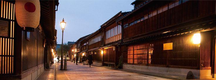 Higashi-Chayagai district - Kanazawa Tourist Information