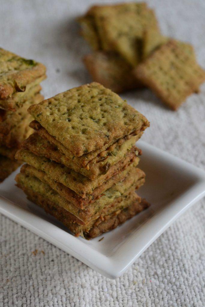 Whole Wheat Masala Crackers
