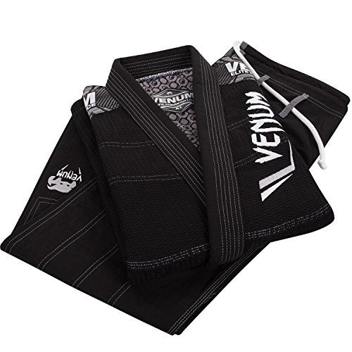 The Venum Elite BJJ gi was designed to support you in reaching your goals and achieving your full potential. The Venum Elite BJJ gi offers a perfect fit thanks to its premium cut and reinforced stitch...