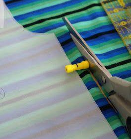 Dessiner le contour du patron et la marge de couture en 1 seule étape