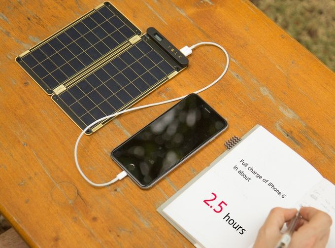 Solar Paper, the world's thinnest and lightest solar charger by YOLK — Kickstarter