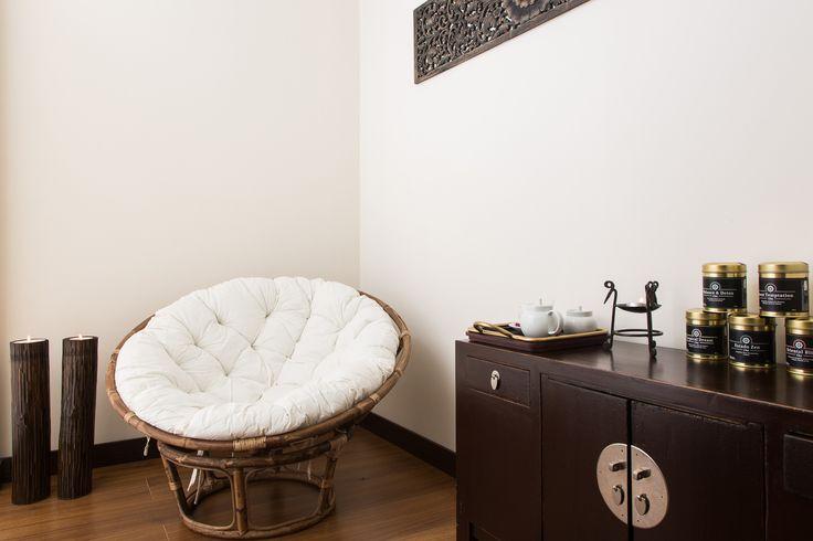 A sala de relaxamento do Float in Massage Spa Belém é onde poderá desfrutar do seu ritual do chá, antes ou depois de qualquer tratamento, potenciando os seus efeitos.