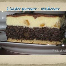 Ciasto serowo-makowe czyli seromakowiec albo serom...