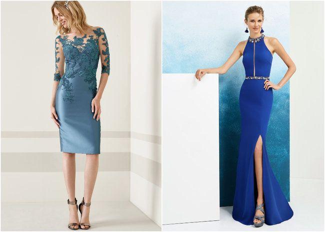 82711ce01 60 vestidos de fiesta de color azul  ¡arrasa en tu evento luciendo alguna de