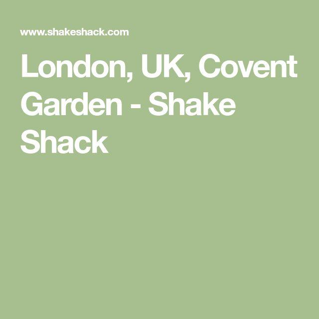 London, UK, Covent Garden - Shake Shack
