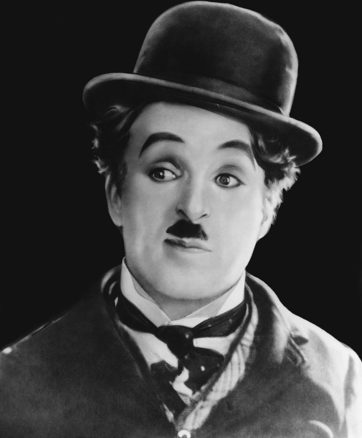 """Charles Chaplin """"The Little Tramp""""    (1889–1977) -After his body was recovered from grave robbers, Chaplin was reburied in a vault surrounded by cement. -His handprints, footprints and signature were immortalized in cement at Grauman's CT, but after his fall from grace with the Americans because of his political views, the section was removed from public view. It cannot be located and is now feared lost.   """"All I need to make a comedy is a park, a policeman and a pretty girl.""""-CC"""