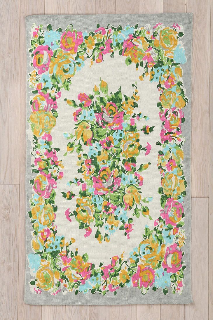 17 best ideas about floral rug on pinterest painted