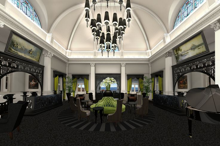Hydro Majestic lobby