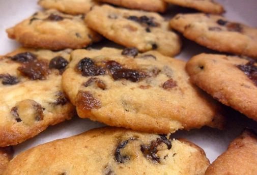 Post image for Jamie O's mince pie cookies