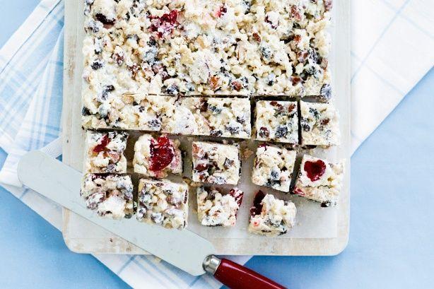 Jo's white Christmas slice main image
