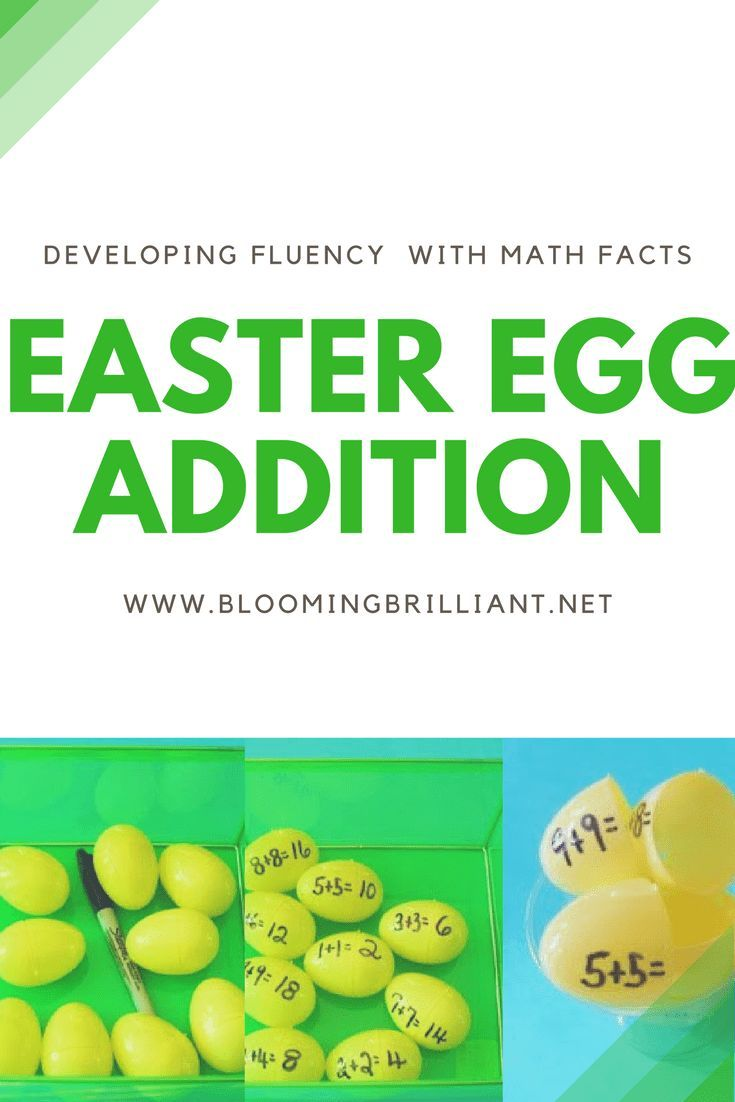 Easter Egg Addition | Kid Blogger Network Activities & Crafts ...