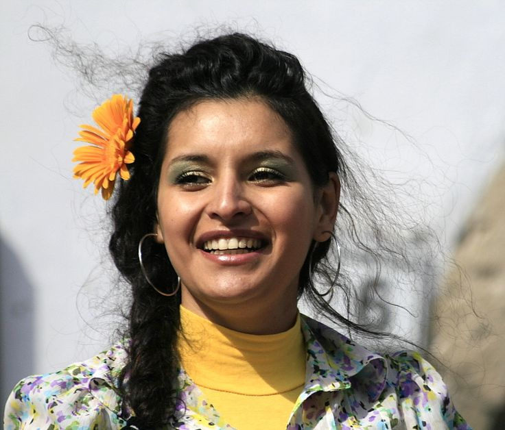 https://flic.kr/p/9wVffX   Roma (Gypsy) queen with hair blowing in the wind   Cluj International Roma (Gypsy) Day Fest