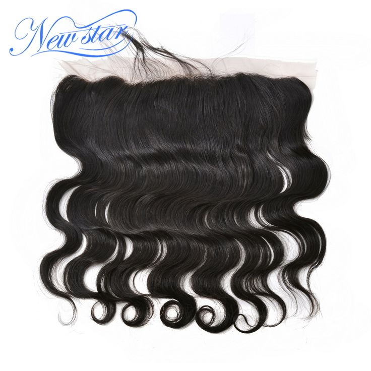New Star Hair free parting Virgin  hair Body Wave lace front closure bleached knots 13*4 size lace frontal with bady hair
