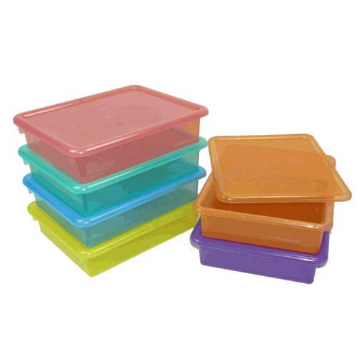 Wonderful Letter Size Colored Plastic Storage Containers. Clear Colors For Kids  Artwork. $7.99. | Yes! Kids | Pinterest | Plastic Storage Containers, Kids  Artwork And ...