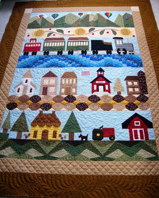 .Quiltscapes.: Wasatch County Fair Days ---- love row by row quilts