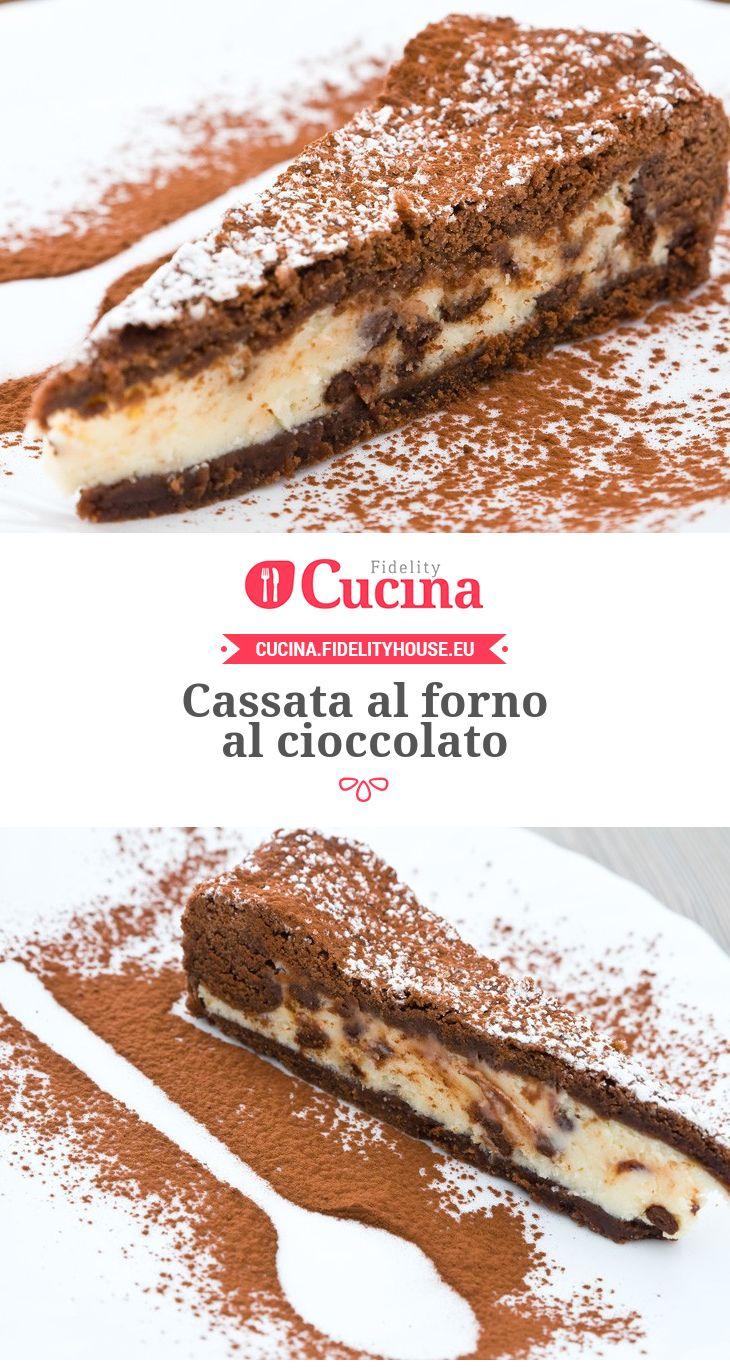 Cassata al forno al #cioccolato