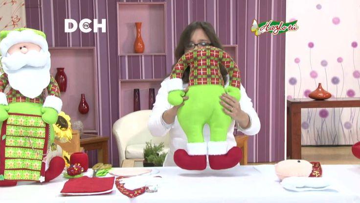 Santa Calendario de Adviento - Yasna Pino - Casa Puchinni