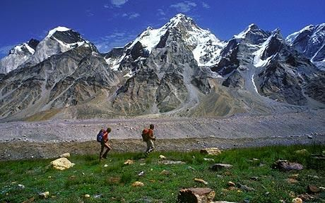 """Hiking holidays: The world in 50 walks""  :: must-do hikes around the world"