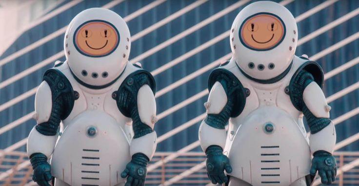 Doctor Who Smile Emoji Robots