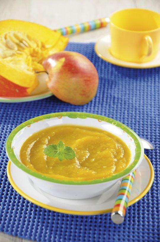 Zupa-krem z dyni i jabłka