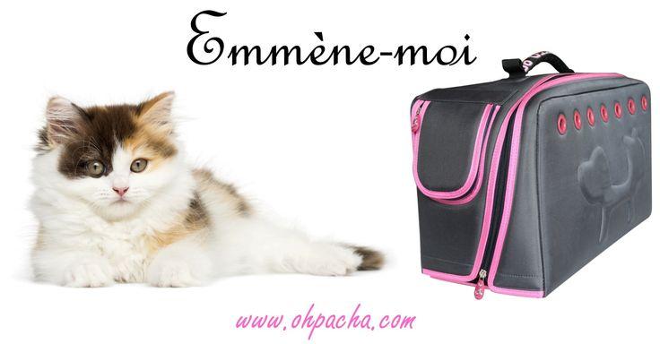 Emmène-moifaire le tour du monde... A découvrir dans notre boutique en ligne : http://www.ohpacha.com/sac-de-transport-pour-chat/735-sac-de-transport-pour-chat-emmene-moi.html