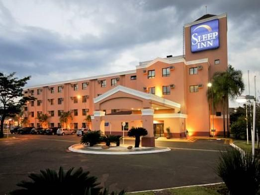 Ribeirao Preto Sleep Inn Ribeirao Preto Brazil, South America The 3-star Sleep Inn Ribeirao Preto offers comfort and convenience whether you're on business or holiday in Ribeirao Preto. Both business travelers and tourists can enjoy the hotel's facilities and services. Service-minded staff will welcome and guide you at the Sleep Inn Ribeirao Preto. Guestrooms are fitted with all the amenities you need for a good night's sleep. In some of the rooms, guests can find television L...