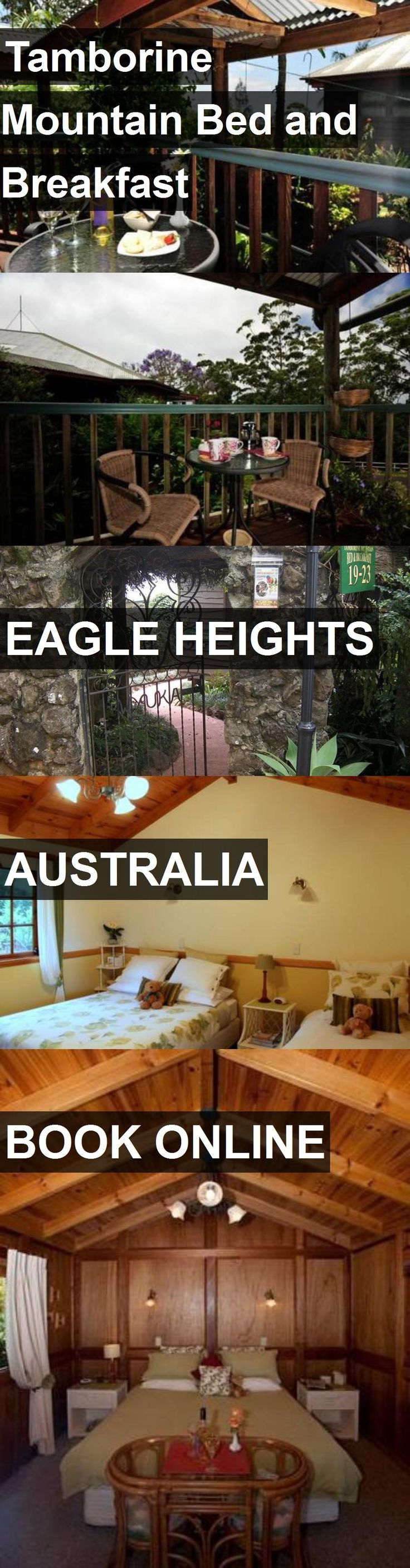 Hotel Tamborine Mountain Bed and Breakfast in Eagle Heights, Australia. For more information, photos, reviews and best prices please follow the link. #Australia #EagleHeights #travel #vacation #hotel