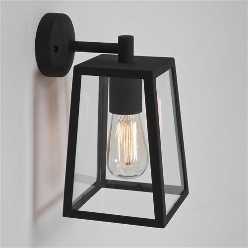 7105 Calvi Outdoor Wall Light Black