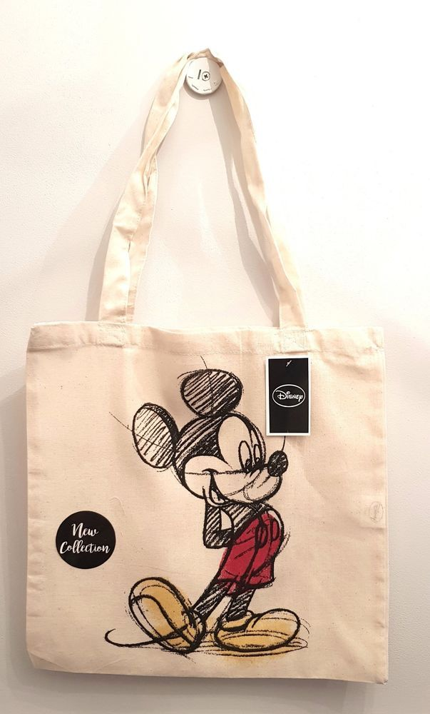 BNWT Primark ladies girls Disney Mickey and Minnie Mouse tote shoulder beach bag