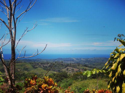 Costa Rica Finca mit Meerblick