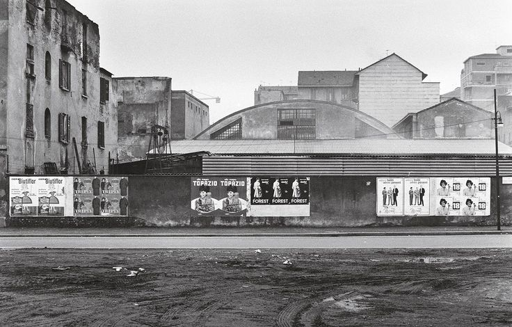 fotografia di Ernesto Fantozzi via Sassetti - Milano, 1961